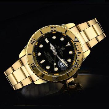Rolex Ladies Men Trending Casual Quartz Watches Wrist Watch G