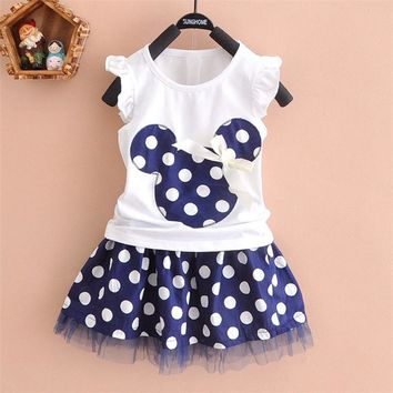 2 pc. Fashion Minnie Tutu Dress