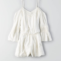AEO COLD SHOULDER ROMPER