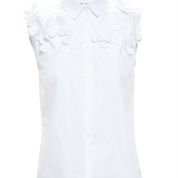 Sleeveless Shirt with 3D Flowers - SIMONE ROCHA