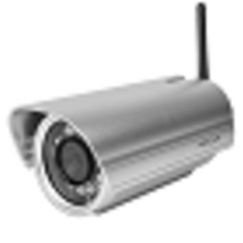 Foscam FI9804P 720P Outdoor HD Wireless Day/Night IP Camera w/12 IR LEDs (Silver)