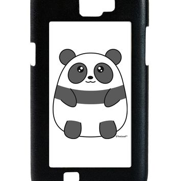 Cute Panda Bear Galaxy Note 2 Case  by TooLoud
