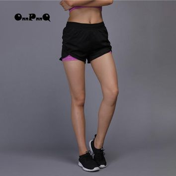 Yoga Shorts Pants Women's Black Breathable Running Paints Workout Jogging Gym Sports Wear For Wome pantalon deportivo mujer
