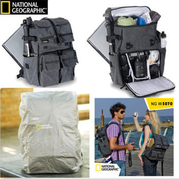High Quality Camera Bag NATIONAL GEOGRAPHIC NG W5070 Camera Backpack Genuine Travel Camera Bag (Extra thick version)