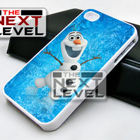 Olaf Frozen Funny - iPhone 4/4s/5/5s/5c Case - Samsung Galaxy S2/S3/S4 Case - Black or White