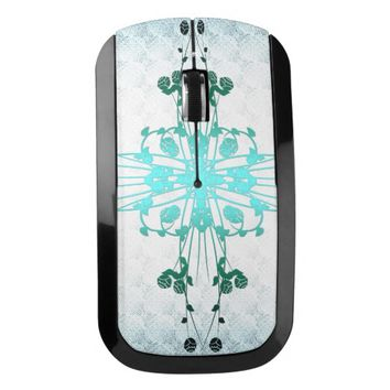 Flower Cross Wireless Mouse