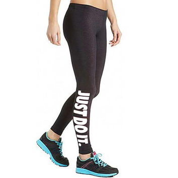 Hot Sale Print Alphabet Cotton Yoga Pants Leggings [6358654852]