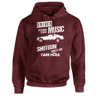 Driver Picks The Music Winchestser Supernatural Hoodie