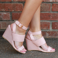Make You Blush Wedges