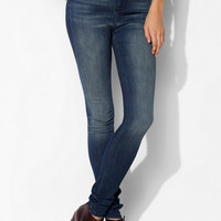 BDG Twig Super High-Rise Jean - Dark Blue - Urban Outfitters