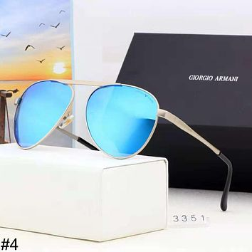 Giorgio Armani HD Polarized Driving Sunglasses Outdoor Fashion Color Film Polarized Sunglasses #4