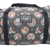 Liquorbrand Animal Hospital Tattoo Neo Traditional Animal Tattoo Art Oversized Duffel Bag