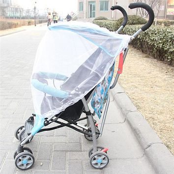 Useful Baby Stroller Pushchair Car Mosquito Insect Net Safe Infants Protection Mesh Stroller Accessories Mosquito Net Shield