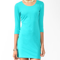 Basic 3/4 Sleeve Dress