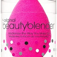 beautyblender® original single sponge makeup applicator - 1 pink beautyblender in mini canister
