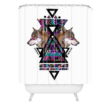 Kris Tate Adahy Shower Curtain