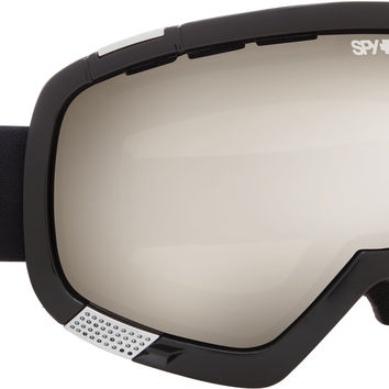 Spy Platoon Goggle - Black/Bronze Silver Mirror + Yelow Green Spectra Lens