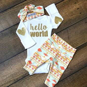 Children Baby Kids Cute Mom's Baby Funny One Piece Clothing [9496575556]
