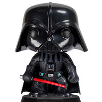 Funko Pop! Star Wars: Darth Vader Bobble Head Black One Size For Men 27282910001