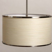 Chrome Plate Natural 16-inch Chandelier