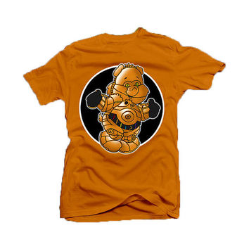 Care Bear C-3PO - Star Wars / Care Bear parody - tee shirt