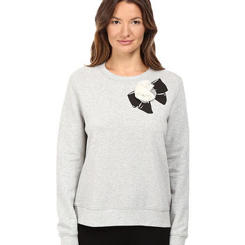 Kate Spade New York Rosette Bow Sweatshirt