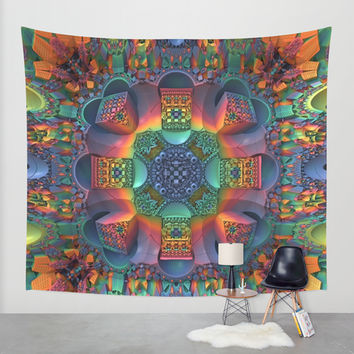 Groovy Baby! Wall Tapestry by Lyle Hatch | Society6