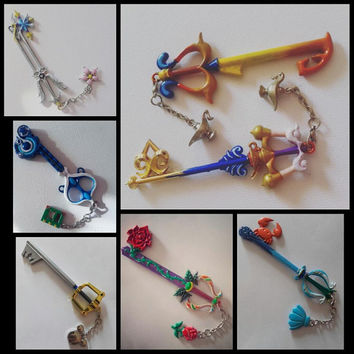 Kingdom hearts keyblades- NEW batch of keys available!
