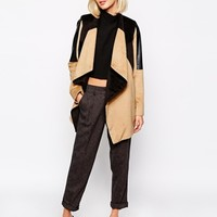 River Island Colour Block Coat