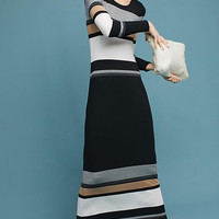 Norwich Striped Maxi Dress