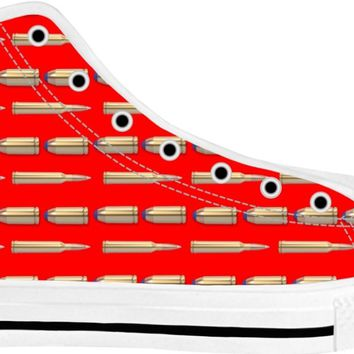 Bullets Shoes White/Red Tops