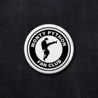 Monty Python fan club button