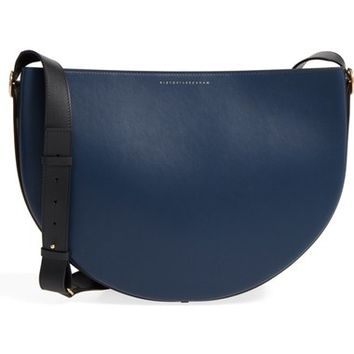 Victoria Beckham Small Half Moon Calfskin Leather Bag | Nordstrom