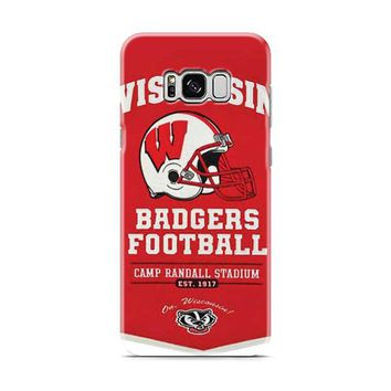 Wisconsin Badgers champ banner Samsung Galaxy S8 | Galaxy S8 Plus case