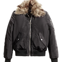 H&M Bomber Jacket with Collar $49.99