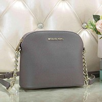 Michael Kors MK Women Fashion Leather Chain Crossbody Satchel Shoulder Bag