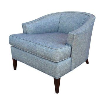 Pre-owned Mid-Century Barrel Back Club Chair