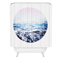 Leah Flores Surf Shower Curtain
