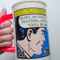 Vintage Original Cookie Company Reusable Thermal Drinking Cup