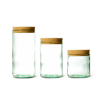 So into this design on Fab! Aqua Wine Canister Trio #FabForAll