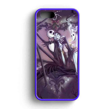 Jack And Sally The Night Before Chrismast  iPhone 5 Case iPhone 5s Case iPhone 5c Case