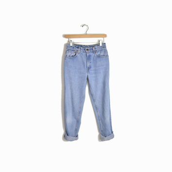 Vintage Levi's 550 Jeans Denim - high waist, tapered - 7 short