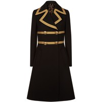 Dolce & Gabbana Braided Wool Double-Breasted Coat | Harrods.com