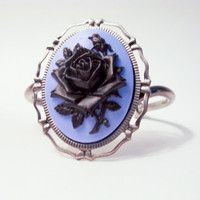 GOTHIC VICTORIAN TRADITIONAL: I'll Have A Blue Monday Cuff Bracelet.