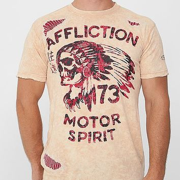 Affliction American Customs No Luck Chief T-Shirt