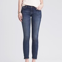 Banana Republic Womens Medium Wash Skinny Ankle Jean