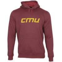 Central Michigan Chippewas Edge Marled Pullover Hoodie - Maroon