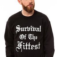 Survival Crewneck - Black