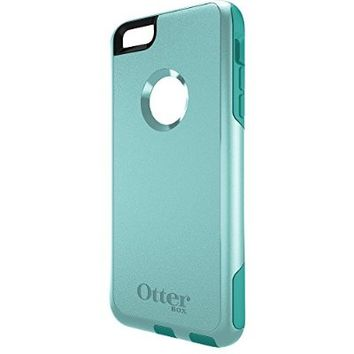OtterBox COMMUTER iPhone 6 Plus/6s Plus Case - Frustration-Free Packaging - AQUA SKY (AQUA BLUE/LIGHT TEAL)
