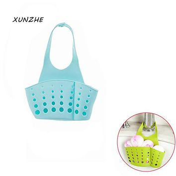 XUNZHE 1Pcs Arrives Adjustable Buckle Rack Kitchen Sink Rack Receive Hanging Basket Rack Shelf Faucet Sponge Drop Draining Rack